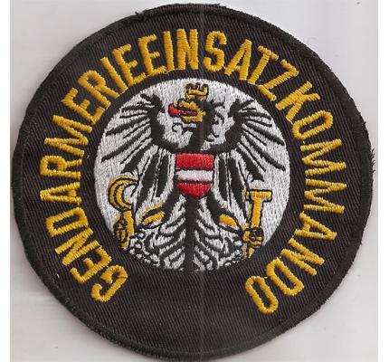 Gendarmerie Einsatzkommando GEK EKC Austria Polizei Uniform Aufnäher Abzeichen