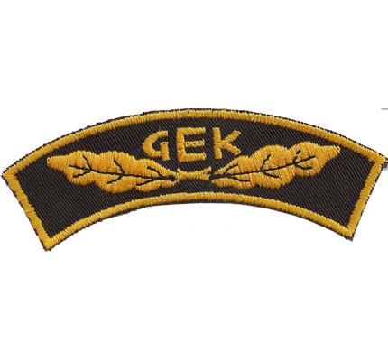 GEK Gendarmerie Einsatzkommando Österreichische Polizei Uniform Abzeichen
