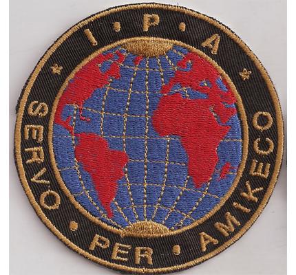 IPA International Police Association Österreich Servo per Amikeco Aufnäher