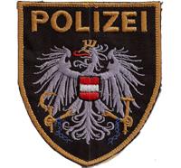 MUSTER des Polizei Uniform Einsatzkommando Österreich Aufnäher Abzeichen