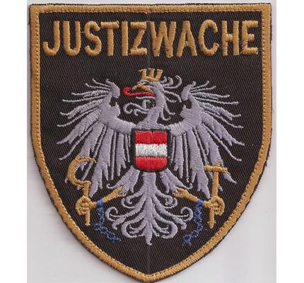 Muster der Justizwache Polizei, Uniform, Österreich, Aufnäher, Abzeichen
