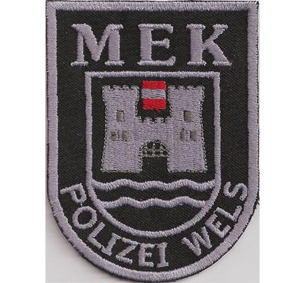 MEK Polizei Wels EKC Einsatzkommando Österreichische Police Aufnäher Abzeichen