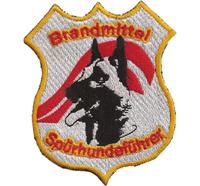 Brandmittelspürhundeführer Einsatzkommando Österreich Polizei Aufnäher Abzeichen
