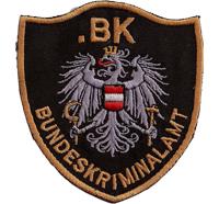 Bundeskriminalamt BKA KRIPO Polizei Österreich AUT Uniform Aufnäher Abzeichen