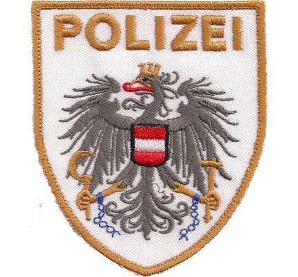 Musteraufnäher Polizei Uniform MEK EE SEK Österreich Aufnäher Abzeichen