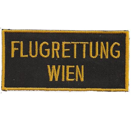 Flugrettung Wien BMI  Polizei Uniform RTH Österreich Aufnäher Abzeichen