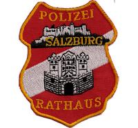 Österreichische Polizei Salzburg Rathaus Austria MEK SEK Aufnäher Abzeichen