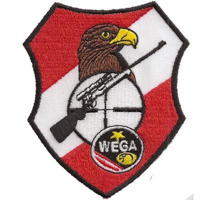 Wega Spezialeinheit Scharfschützen Cobra EKC EE Polizei Aufnäher