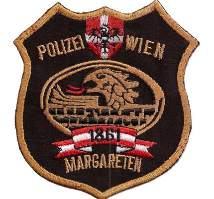 Polizei Wien Margareten EKC Einsatzkommando Österreich Polizei Abzeichen