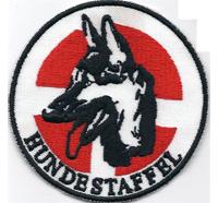 Österreichische Lawinenhund Hundestaffel Bergrettung Aufnäher Abzeichen