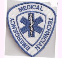 Medical Emergency Technicial, Rescue, Police, Rettungsdienst Aufnäher Abzeichen