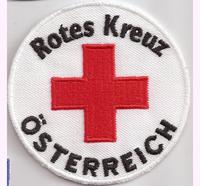 Rotes Kreuz Österreich, Sanitäter, Zivildienst, Rettung, Abzeichen Aufnäher