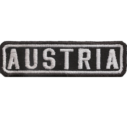 Black, Motorcycle, Club, AUSTRIA, MC, Biker, Ranking, Aufnäher, Patch