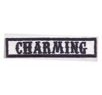 MC Sons of Anarchy original Biker Rang Abzeichen CHARMING Aufnäher Patch