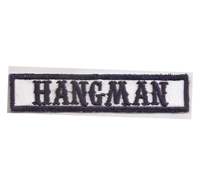 MC Sons of Anarchy original Biker Rang Abzeichen HANGMAN Aufnäher Patch
