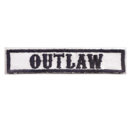 MC Sons of Anarchy original Biker Rang Abzeichen OUTLAW Aufnäher Patch