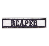 MC Sons of Anarchy original Biker Rang Abzeichen REAPER Aufnäher Patch