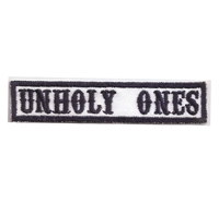 MC Sons of Anarchy original Biker Rang Abzeichen UNHOLY ONES Aufnäher