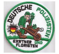Anti deutsche Polizei Fussball Gärtner und Floristen Ultras Aufnäher Patch