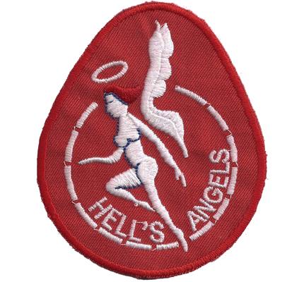 Original Hells Angels US Army Airborne Biker Jacke Kutten Patch Aufnäher