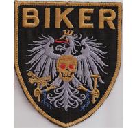 BIKER ANTI POLIZEI, Austria, Police, Free Rider, MC, Aufnäher, Abzeichen