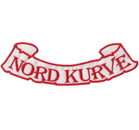 NORDKURVE Fussball Eishockey Ultras Hooligans Fanclub XXL Aufnäher Patch
