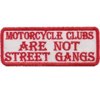 MC Clubs are not street gangs, Hells Eagle, Skullhead, Dark Angels, Aufnäher