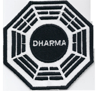 LOST Dharma Initiative Staffel DVD Pharmaindustrie Uniform Aufnäher