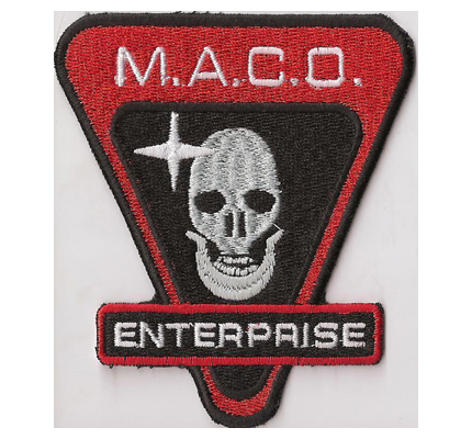 Star Trek MACO Enterprise Mirror Universe DS9 dvd Uniform Abzeichen Patch
