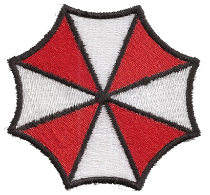 Resident Evil Umbrella Corporation Retribution Nemesis PS3 Spiel Aufnäher