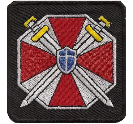 Resident Evil Original Soldier Umbrella STARS Police Aufnäher Patch
