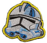 Star Wars StarWars Kampfstern Galactica Clone Trooper Aufnäher Patch