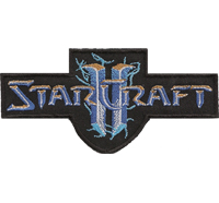 Starcraft II 2 Wings of Liberty Battlenet cd key PATCH Progamer Aufnäher Emblem