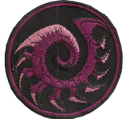 Starcraft 2, Wings of Liberty, Battlenet, ZERG, PATCH Progamer Aufnäher Emblem