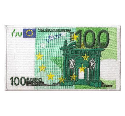 100 € Hundert Euro Geldschein Eurokrise Finanzmarkt Spielgeld Aufbügler
