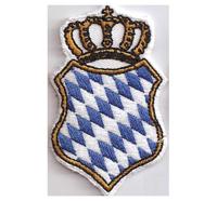 Freistaat Bayern Staatswappen BAVARIA Oktoberfest Aufnäher Abzeichen