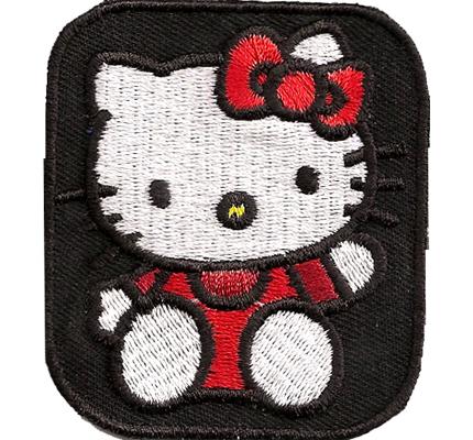 Hello Kitty Pink Mütze Kuscheldecke Tasche Hoodie Kinder Aufbügler