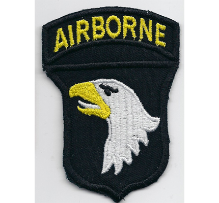 WW2 Airborne 101th Division Eagle US Army Airforce Adler Patch Aufnäher