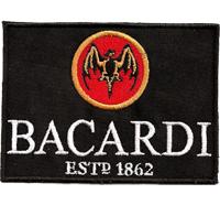 Bacardi Rum Est1862 Fledermaus Cuba Libre OakHeart Schild Aufnäher