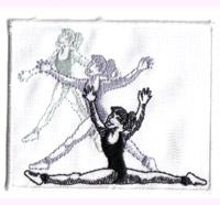 Balett Opern, Dancing, Salsa, DVD, Tanzsport, Kleid, Aufbügler, Aufnäher
