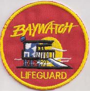 Baywatch Lifeguard Küstenwache Bademeister Rettungsschwimmer Aufnäher