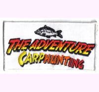 The Adventure Carphunting fishing, heddon, fischen, Angler, Karpfen, Abzeichen