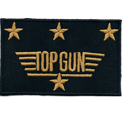 Topgun Piloten Air Force USAF US Army Airforce Patch Aufnäher Abzeichen