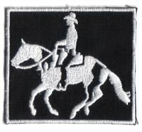 Western, Reiten, Cowboy,  Schabracke, Pferdedecke, Geschirr, Aufnäher, Aufbügler