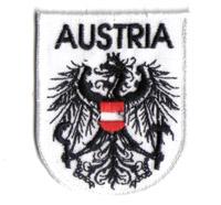 Bundesheer Österreich Adler, Staatswappen, Fahne, ÖSV, Abzeichen Aufnäher