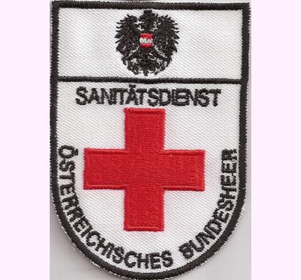 Sanitätsdienst Österreichisches Bundesheer, Sani, Rettungsdienst RTH, Abzeichen