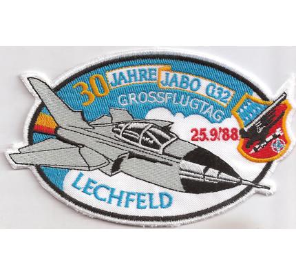 Jubiläumspatch 30 Jahre JABO G32 Jagdbombergeschwader 1988 Lechfeld Aufnäher