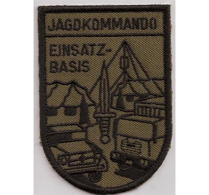 Einsatzbasis Jagdkommando Österreich Bundesheer Aufnäher Abzeichen
