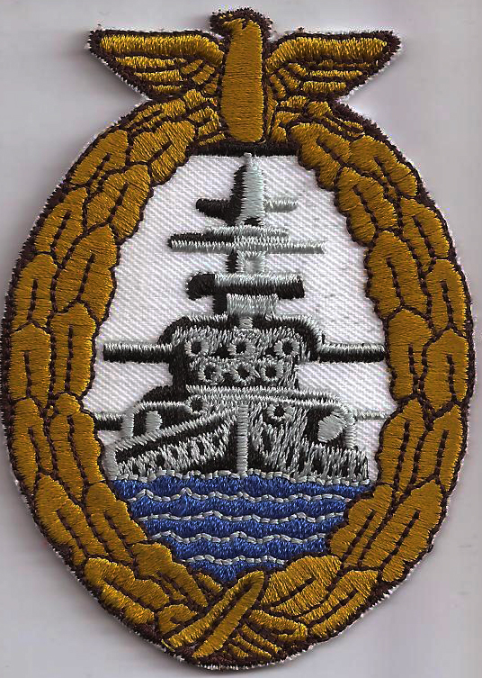 BISMARK Schlachtschiff Marine WW2 German NAVY Germany Aufnäher Patch