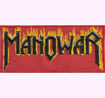 MANOWAR Warriors United Fire, Sign of the Hammer CD Patch Aufnäher